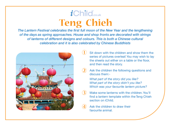 Thumbnail image for the Teng Chieh Religious Festival Story activity.