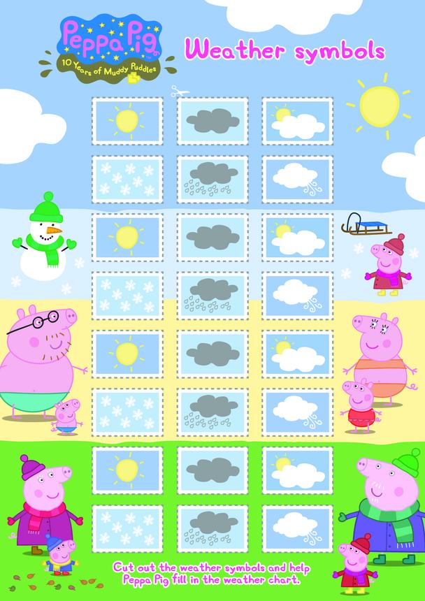 Peppa Pig: Weather Symbols 1 (EYFS/KS1)