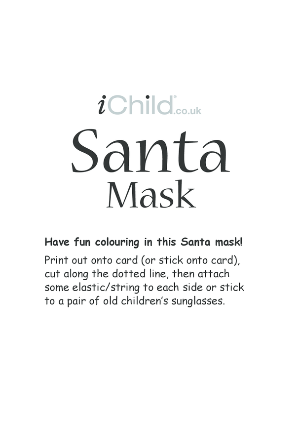 Christmas Santa Mask