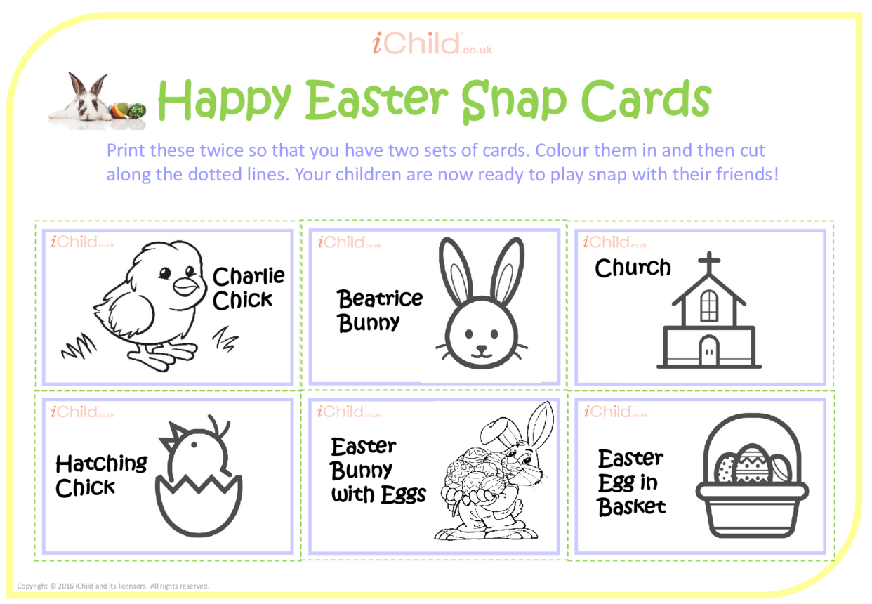 Easter Snap Cards