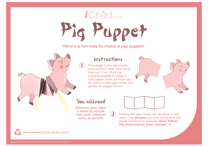 Thumbnail image for the Chinese Pig Puppet activity.