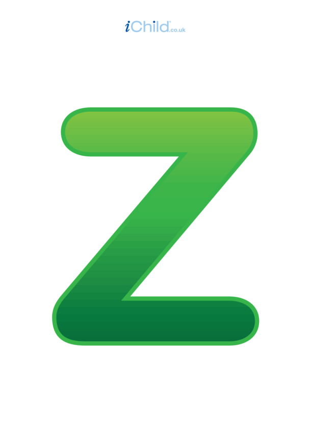 Poster of the Letter 'Z'