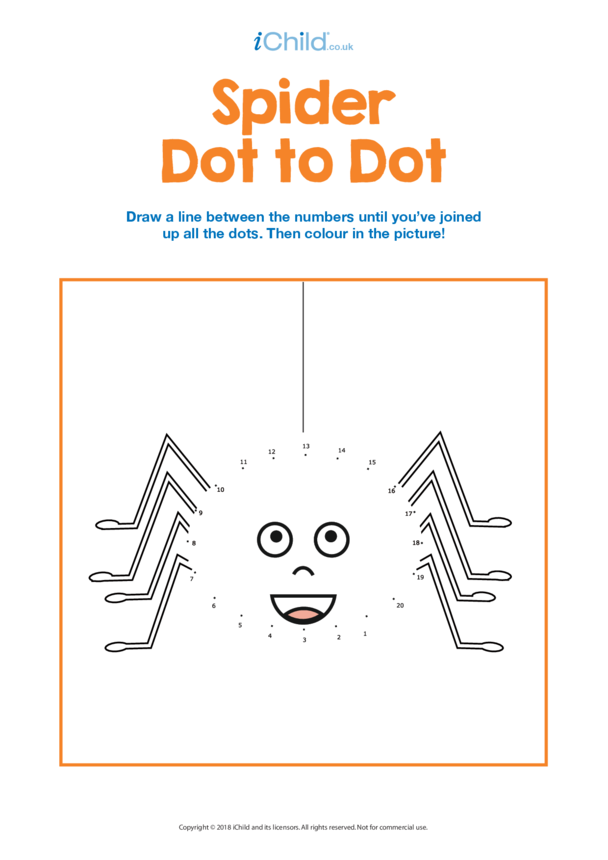 Spider Dot to Dot