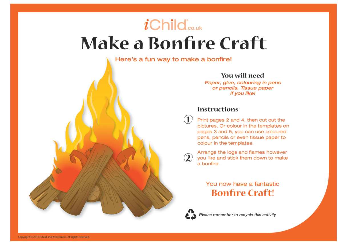 Make a Bonfire Craft