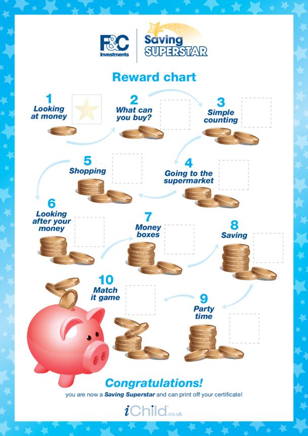 Under 5 years - Reward Chart