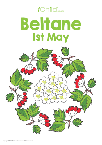 Thumbnail image for the Beltane Poster activity.