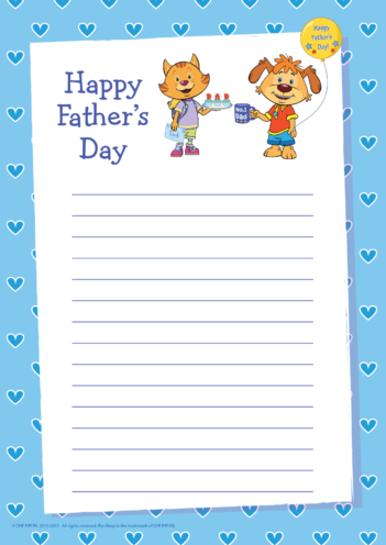 Thumbnail image for the Father's Day Writing Paper (Pip Ahoy!) activity.