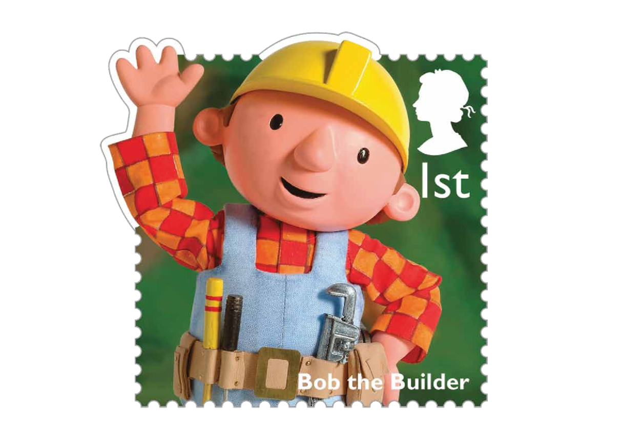 Stamp Image - Bob the Builder
