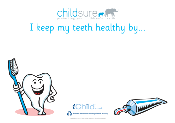 Thumbnail image for the Goal Setting- Teeth activity.