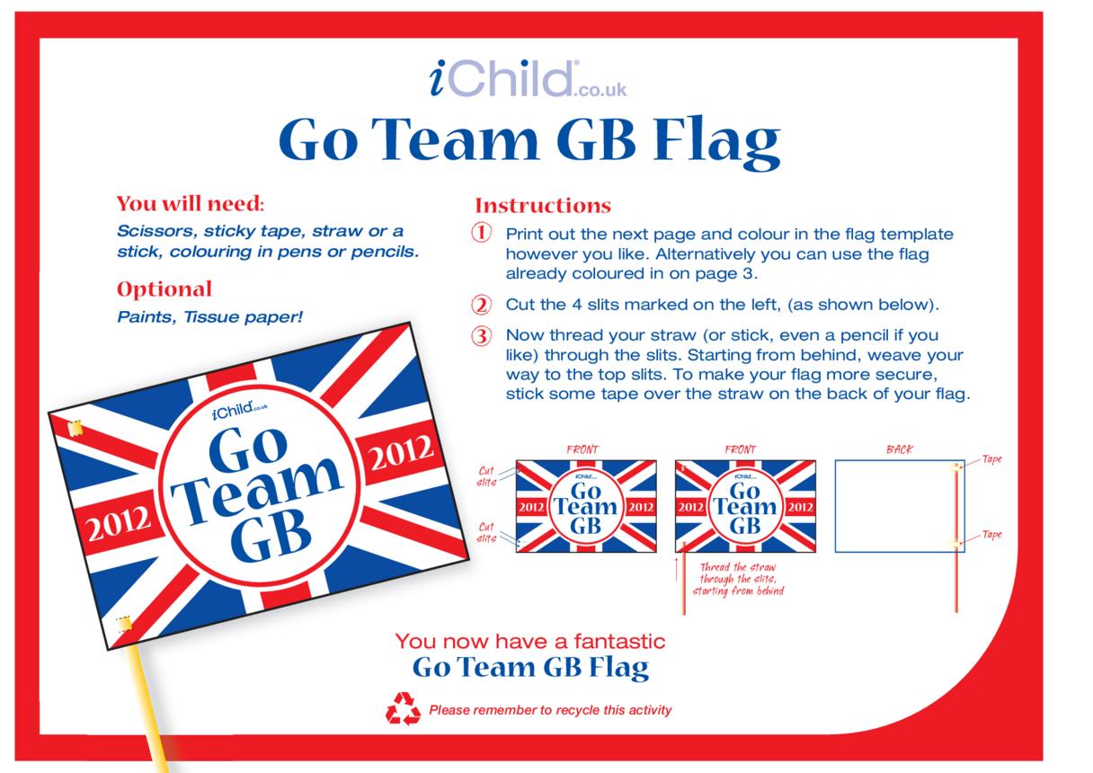 Team GB Make a Flag Craft