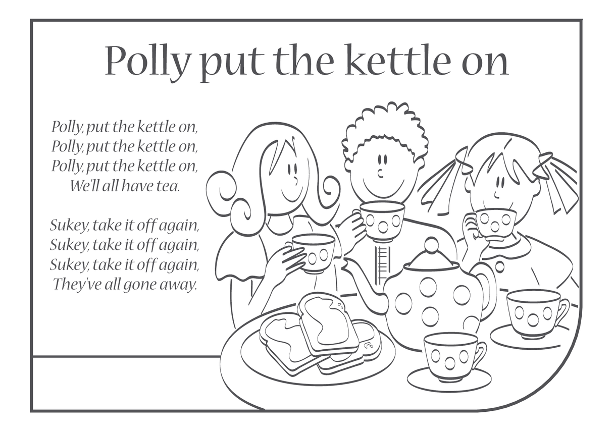 Polly Put the Kettle On Lyrics