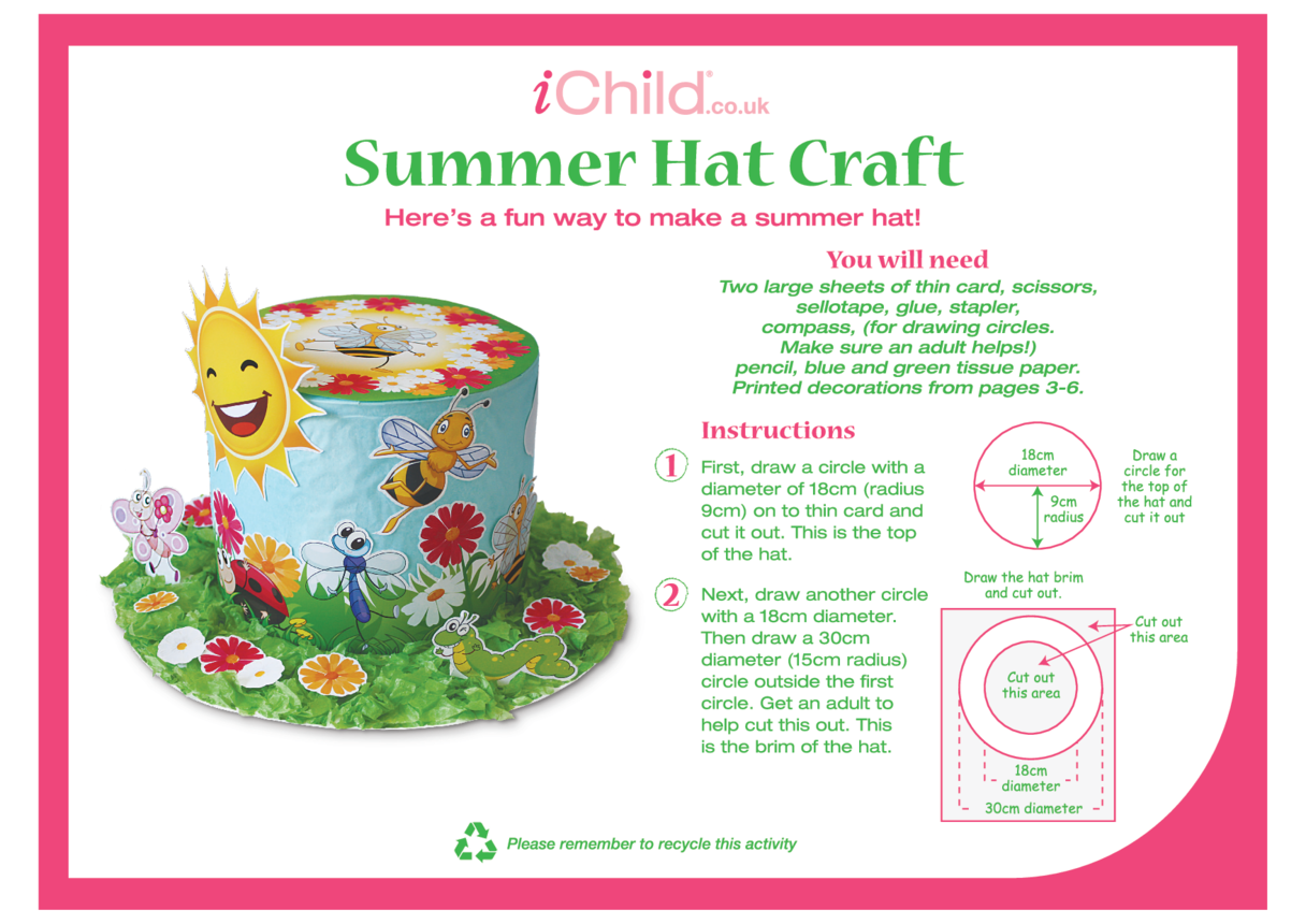 Summer Hat Craft