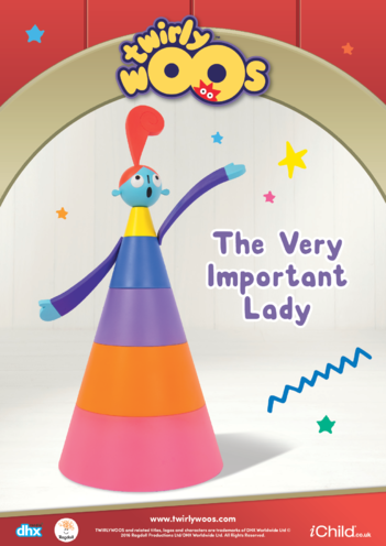 Thumbnail image for the The Very Important Lady activity.