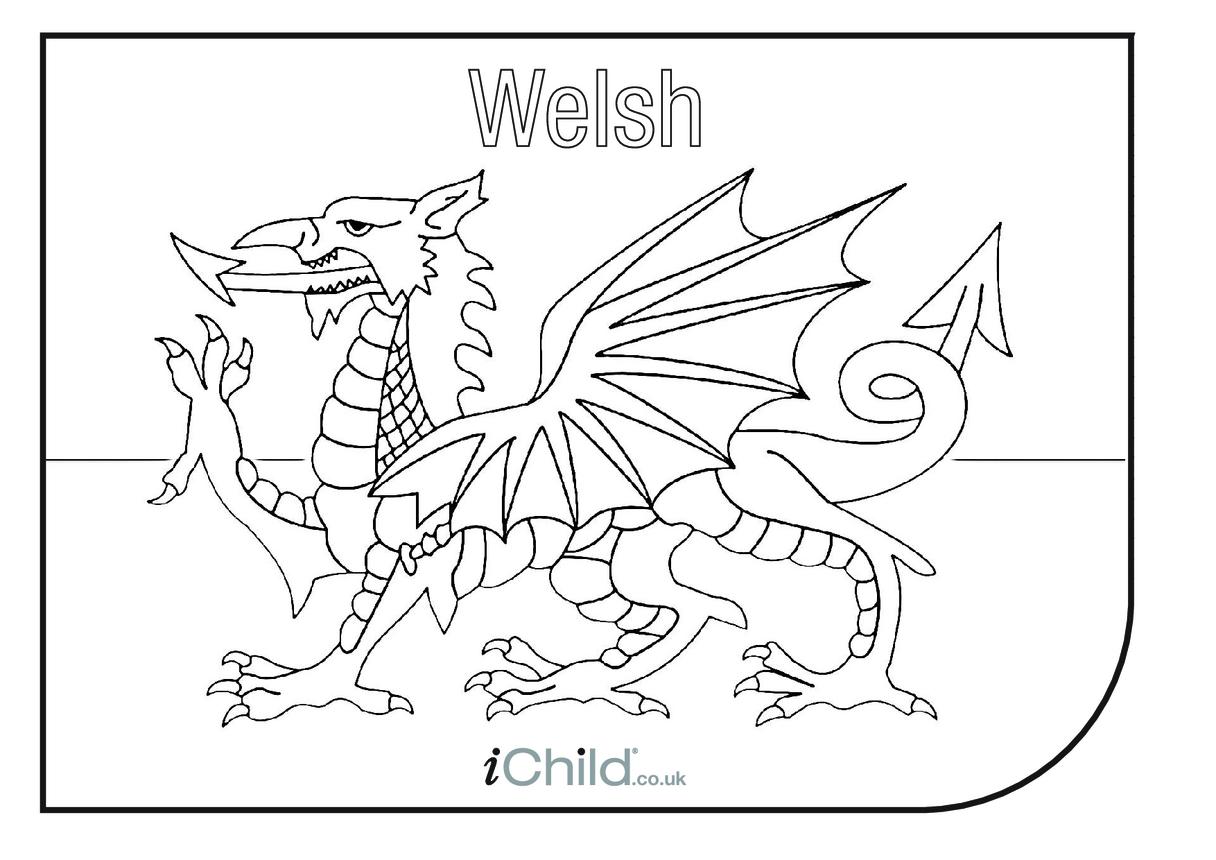 Welsh Flag (Flag of Wales)