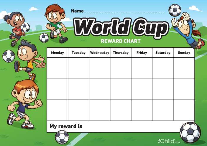 Thumbnail image for the World Cup Reward Chart activity.