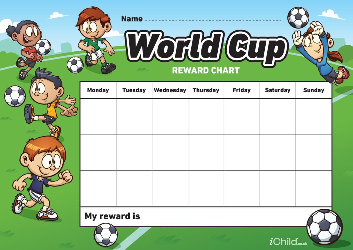 World Cup Reward Chart