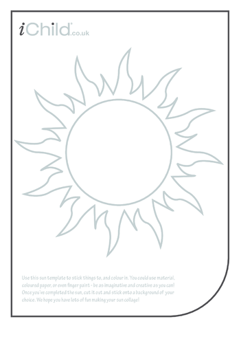 Thumbnail image for the Sun Collage activity.