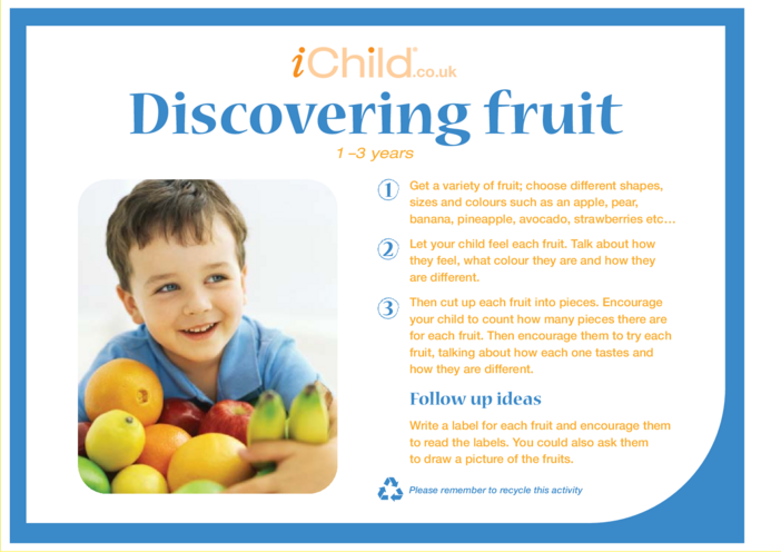 Thumbnail image for the Discovering Fruit activity.