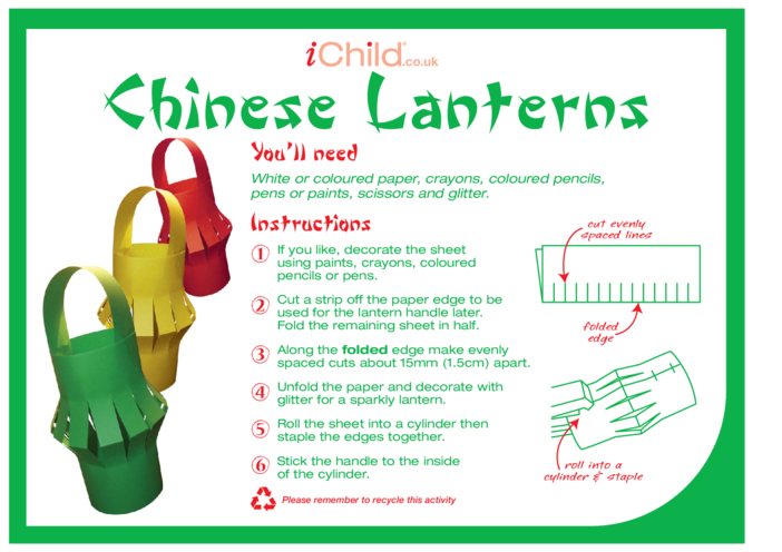 Thumbnail image for the Chinese Lanterns activity.