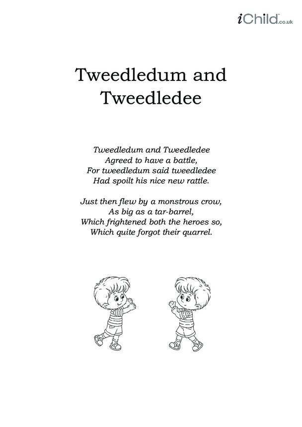 Tweedledum and Tweedledee Lyrics