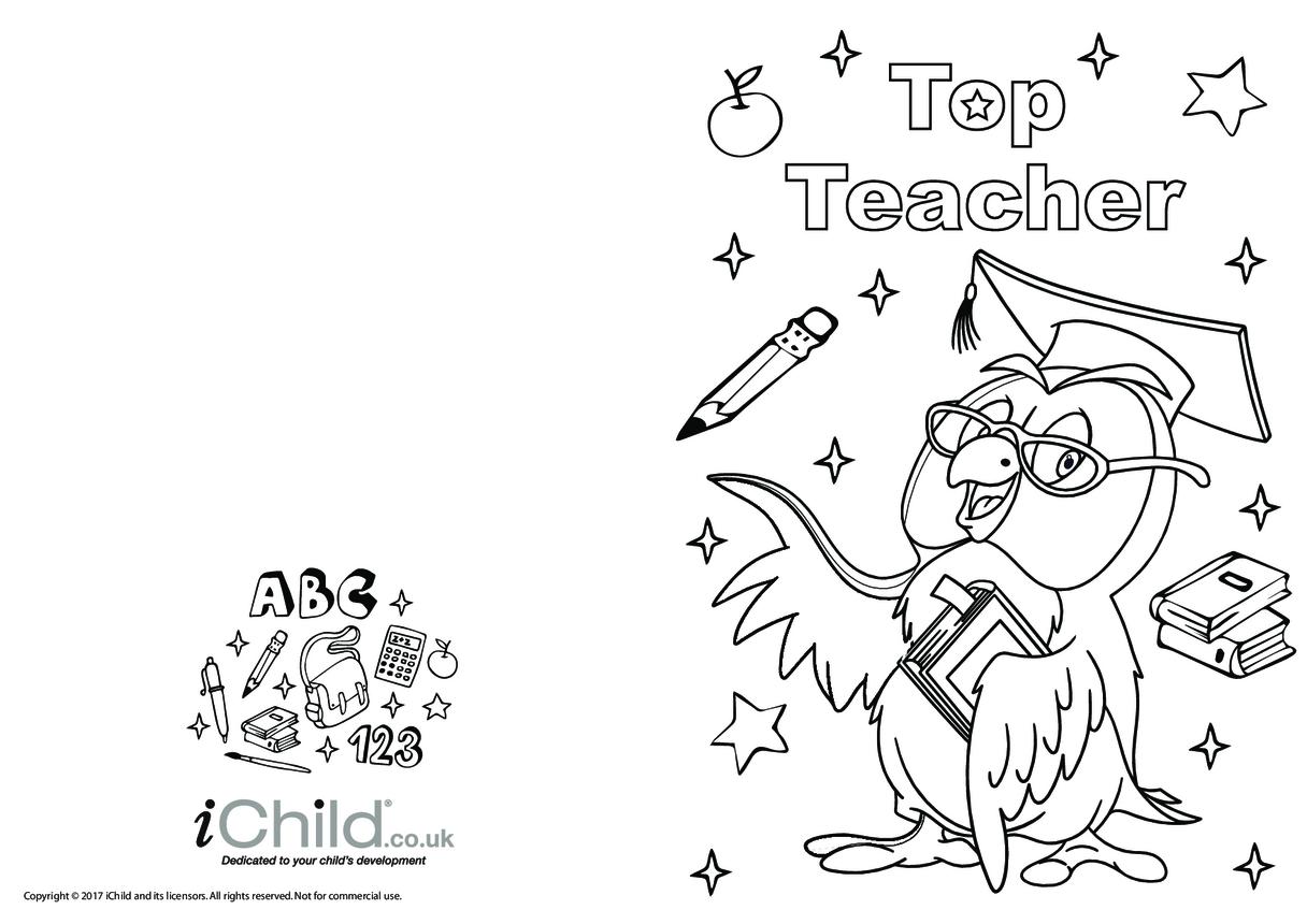 Top Teacher Card