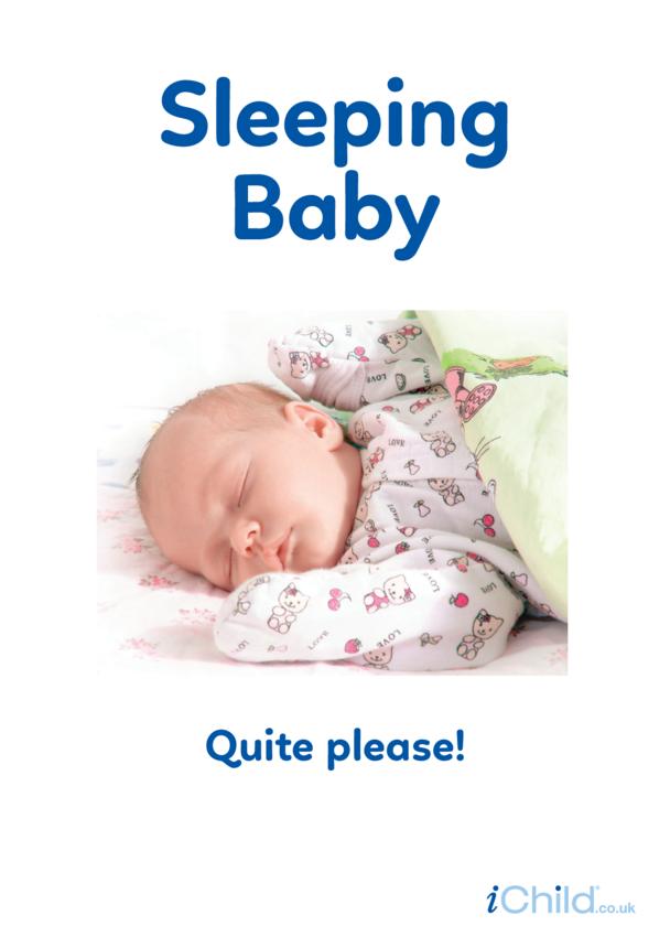 Sleeping Baby - Photo Poster