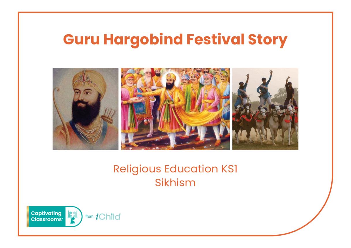Birthday of Guru Hargobind Religious Festival Story