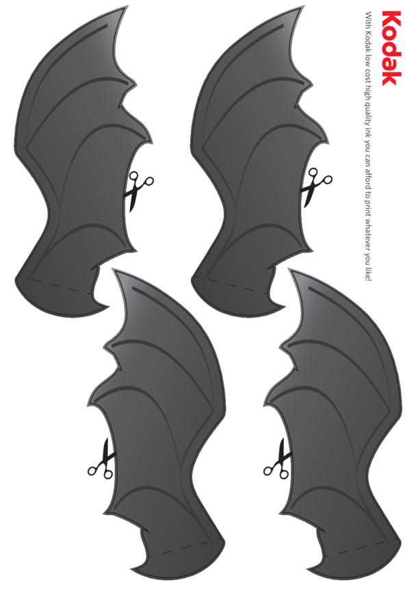 Kodak Bat Folding Figure (Wings)