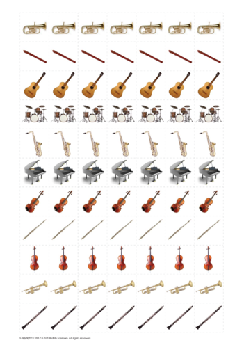Thumbnail image for the Music Practice Reward Chart Stickers activity.