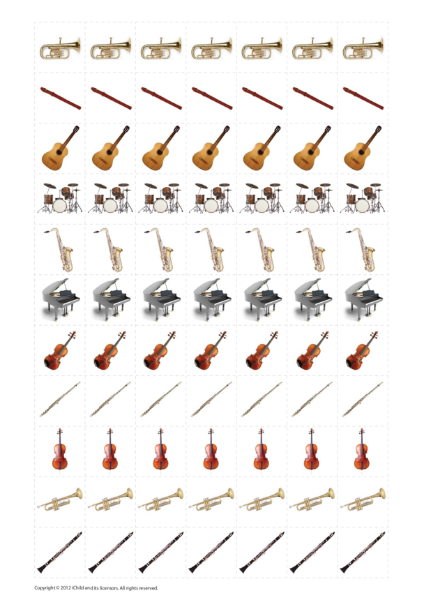Music Practice Reward Chart Stickers