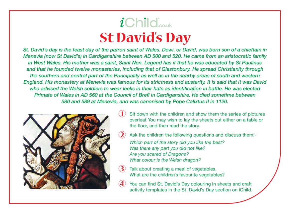 St. David Religious Festival Story