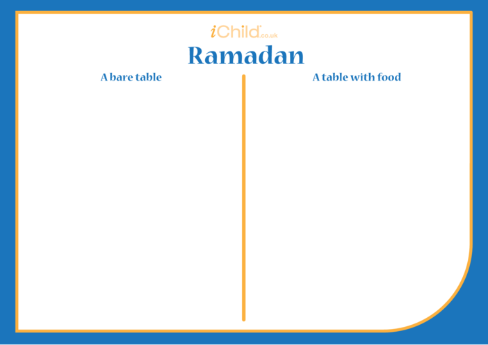Thumbnail image for the Ramadan Drawing Template activity.