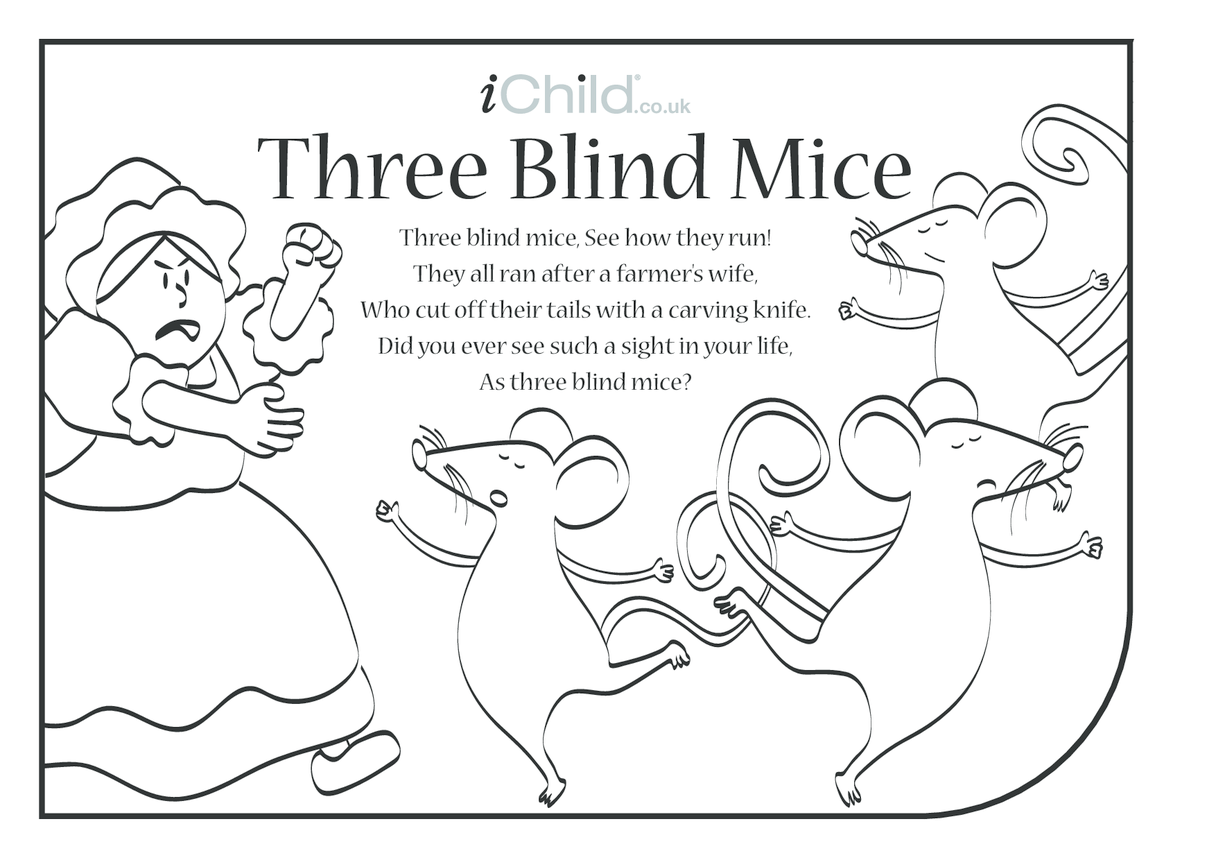 Three Blind Mice Lyrics