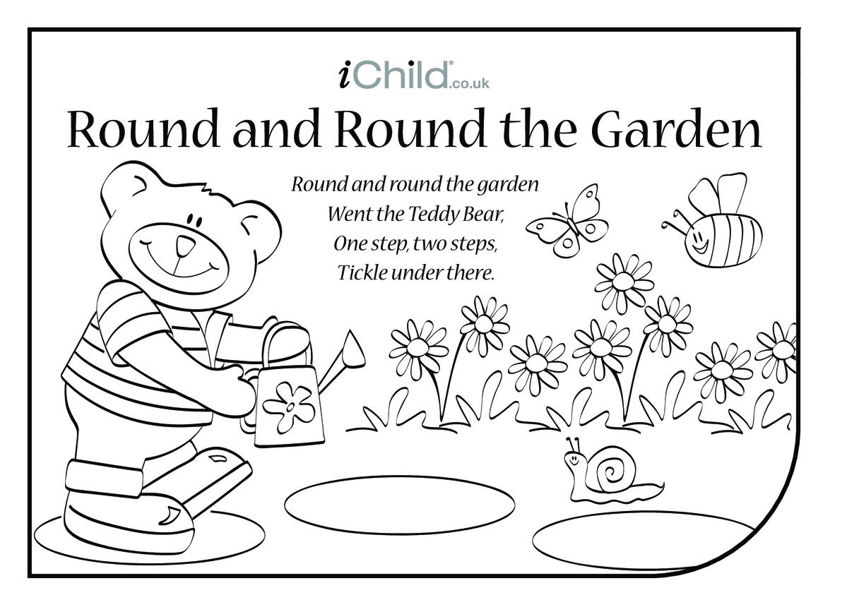Round and Round the Garden Lyrics