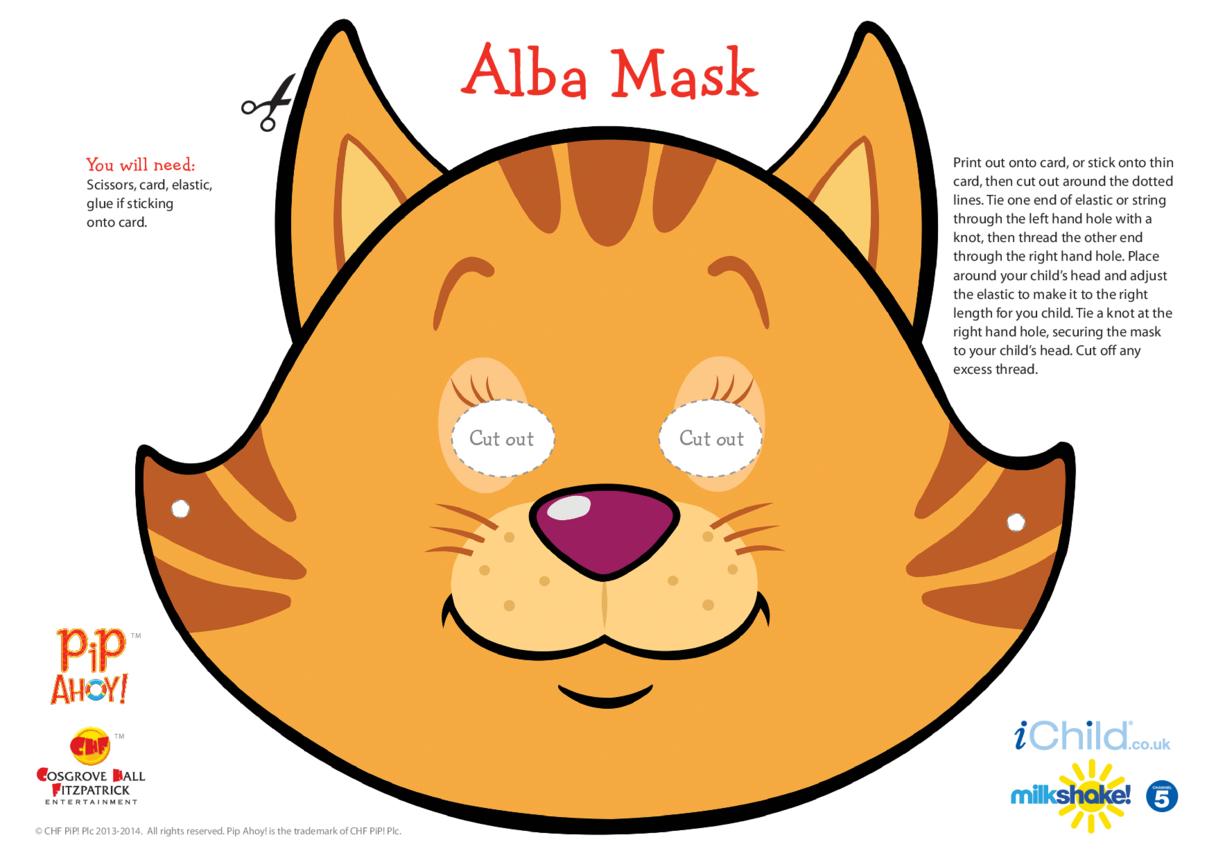 Alba Face Mask (Pip Ahoy!)
