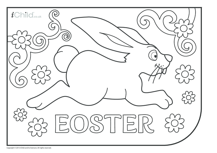 Thumbnail image for the Eostre Colouring in Picture activity.