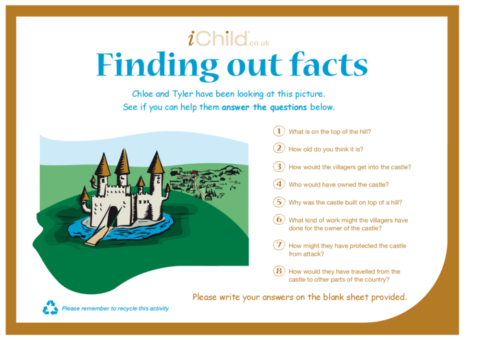 Thumbnail image for the Finding Out Facts activity.