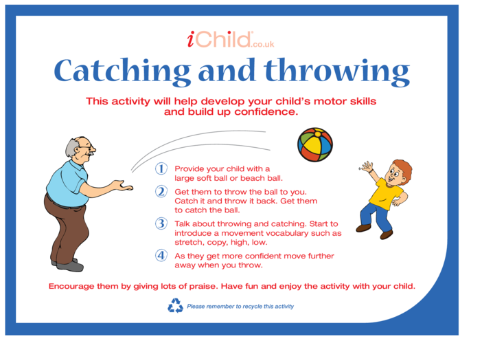 Thumbnail image for the Catching and Throwing activity.