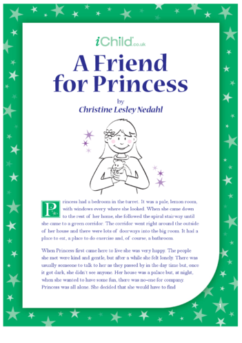Thumbnail image for the A Friend for Princess activity.