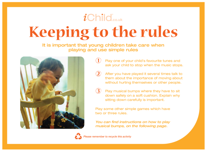 Thumbnail image for the Keeping to the rules activity.