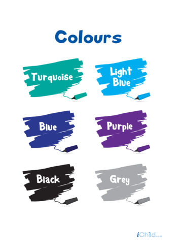 Thumbnail image for the Colours (secondary colours) activity.