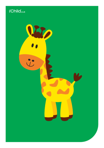 Thumbnail image for the Contrasting Colours Poster: Giraffe activity.