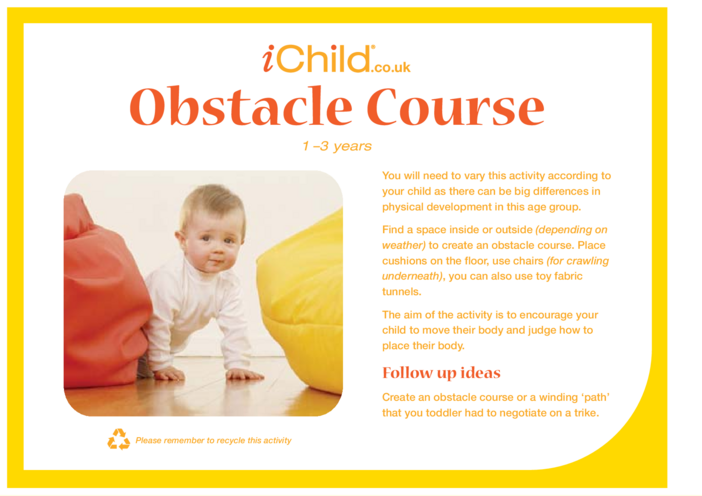 Thumbnail image for the Obstacle Course activity.