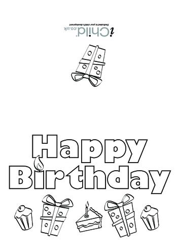 Thumbnail image for the Birthday Card design - Happy Birthday activity.