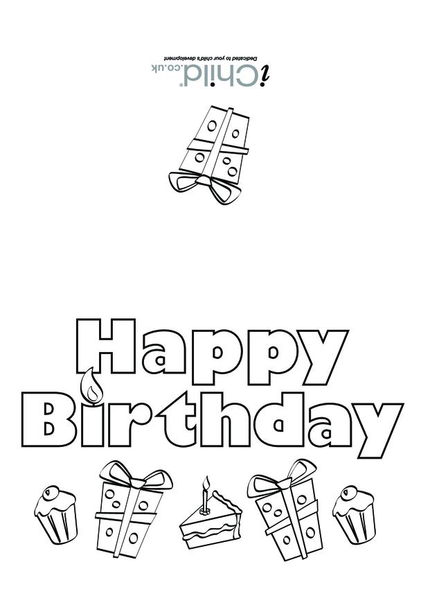 Birthday Card design - Happy Birthday