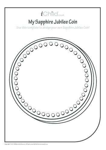 Thumbnail image for the Design a Sapphire Jubilee Coin activity.