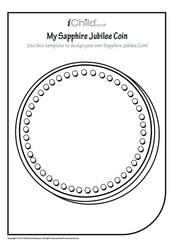 Design a Sapphire Jubilee Coin