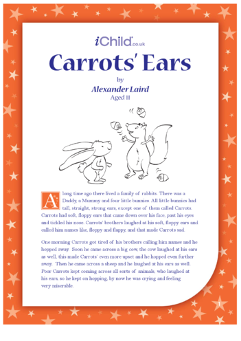 Thumbnail image for the Carrots's Ears activity.
