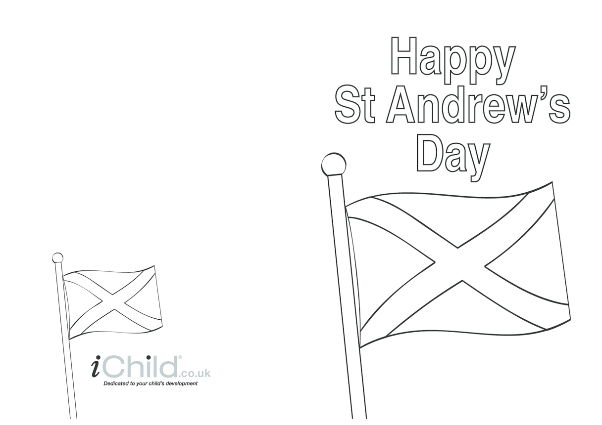 St. Andrews Day Card