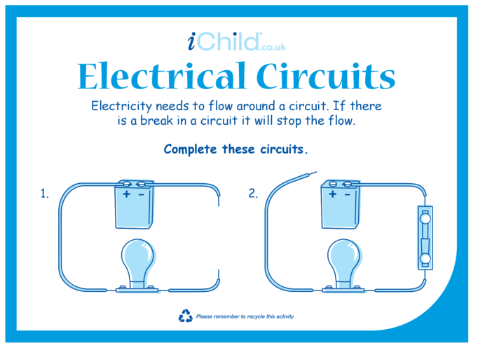 Thumbnail image for the Electrical Circuits activity.